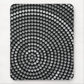 Modern mousepad, black, gray, abstract mouse pad
