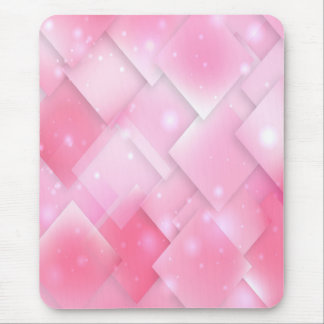 Modern mousepad, pink, abstract, geometric mouse pad