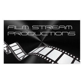 Modern Movie Director Film Producer Business Cards