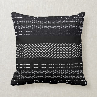 Modern Mudcloth Pattern Throw Pillow
