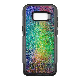 Modern Multicolor Glitter Texture GR1 OtterBox Commuter Samsung Galaxy S8+ Case
