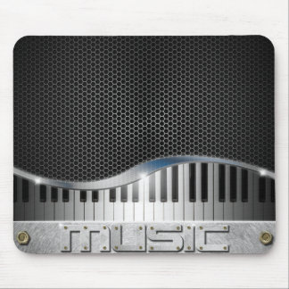 Modern Music Mouse Pad