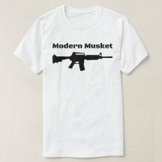 Modern Musket AR15 M16 M4 Black Rifle Molon Labe T-Shirt