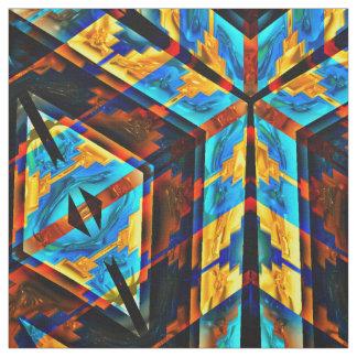 Modern Native American 18 Custom Fabric