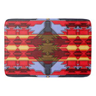 Modern Native American 5 Bath Mat