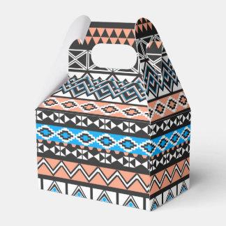 Modern Native American Tribal Aztec Pattern Party Favor Box