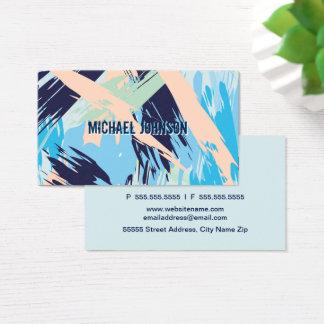 Modern Nautical Maritime Blue Business Card