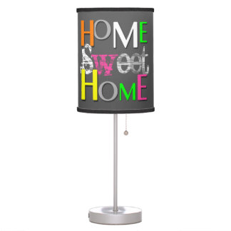 Modern Neon Home Sweet Home - Table Lamp