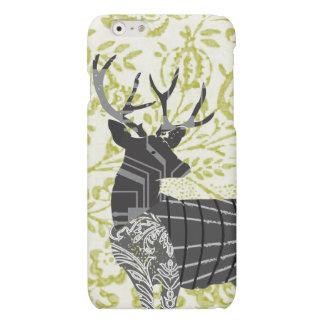Modern Nostalgia Vintage Floral Deer iPhone 6 Case
