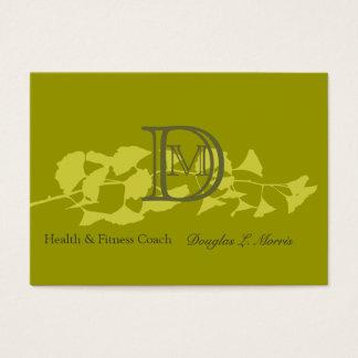 Modern Organic Elegant Nature Branch Business Card