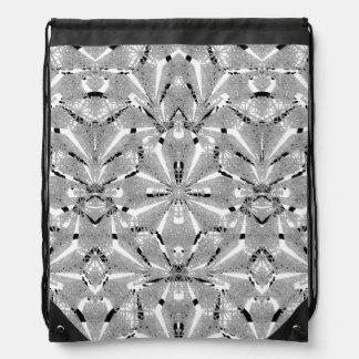 Modern Oriental Ornate Drawstring Bag