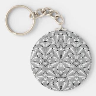 Modern Oriental Ornate Keychain