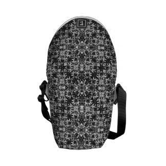 Modern Oriental Pattern Courier Bag