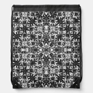 Modern Oriental Pattern Drawstring Bag