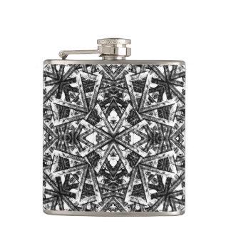 Modern Oriental Pattern Flasks