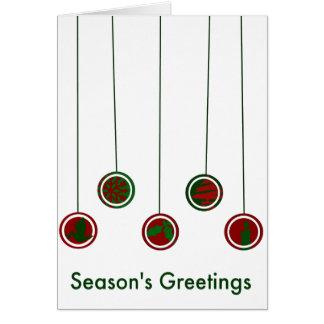 Modern Ornaments Card