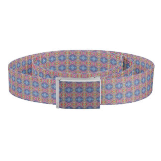 Modern Ornate Pattern Belt