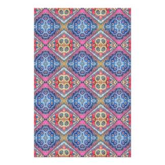 Modern Ornate Seamless Pattern002 Custom Stationery