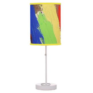 Modern Paint Strokes Custom Lamp