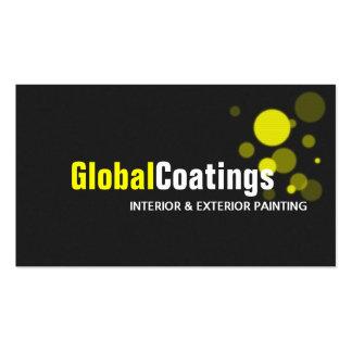 Modern Painting Painter Construction Design Business Card Templates