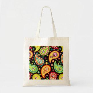 Modern Paisley Pattern - Diamond Studs Tote Bag