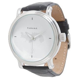 Modern: Panama Map Wristwatch