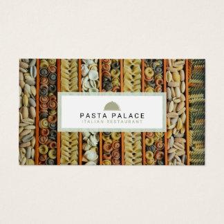 Modern Pasta Restaurant Business Card