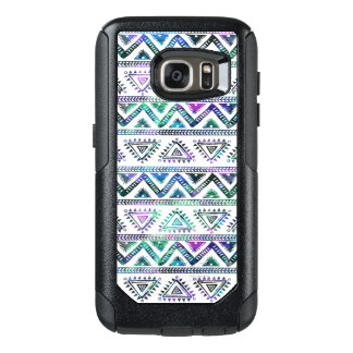 Modern Pastel Colors Geometric Tribal Pattern OtterBox Samsung Galaxy S7 Case