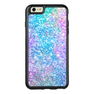 Modern Pastel Colors Glitter Print OtterBox iPhone 6/6s Plus Case