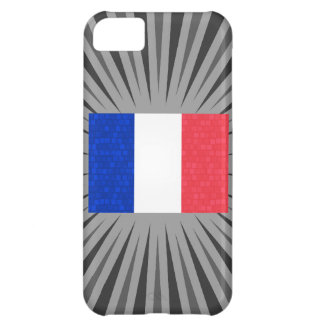 Modern Pattern French Flag iPhone 5C Cases