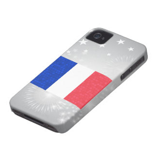 Modern Pattern French Flag Blackberry Bold Covers