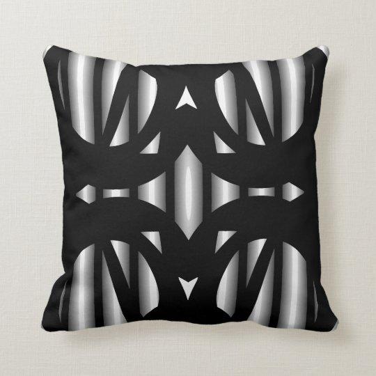 Modern Pattern Pillow-Home -Black/White/Grey Throw Pillow