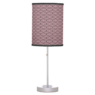 Modern pattern table lamp