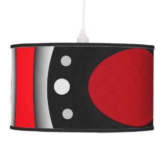Modern pendant lampe - red, black, white pendant lamps