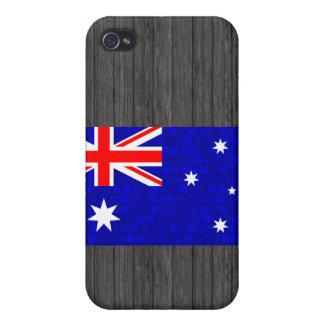 Modern Pern Australian Flag Case For iPhone 4