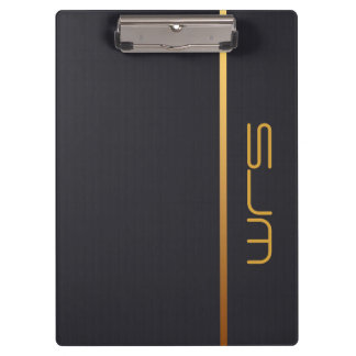 Modern Personalized medium Monogram Clipboard