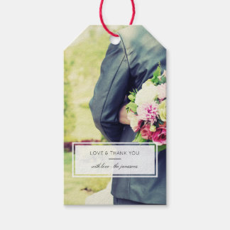 Modern Photo Pack Of Gift Tags