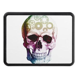 Modern Photo Skull Trailer Hitch Cover