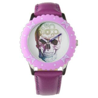 Modern Photo Skull Watch