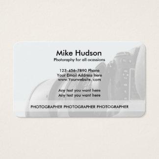 Modern Photographer Business Cards