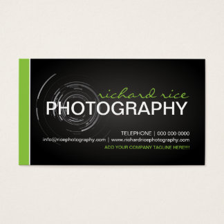 Modern Photographer Business Cards 2
