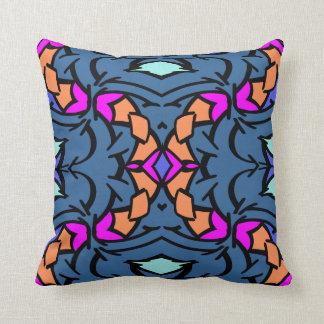 Modern Pillow-Home -Blue/Aqua/Pink/Orange/Black Throw Pillow