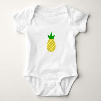 Modern pineapple design baby bodysuit