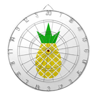Modern pineapple design dartboard