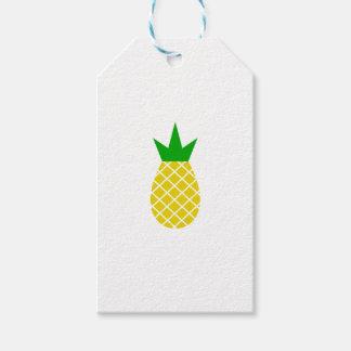 Modern pineapple design gift tags