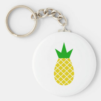 Modern pineapple design keychain
