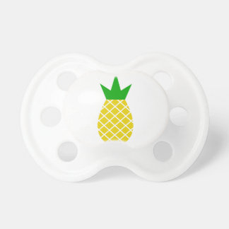 Modern pineapple design pacifier