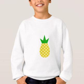 Modern pineapple design sweatshirt