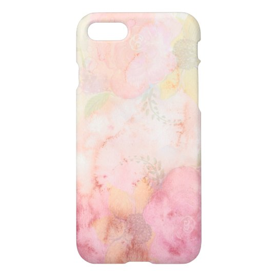 Modern Pink Abstract Design iPhone 7 Case