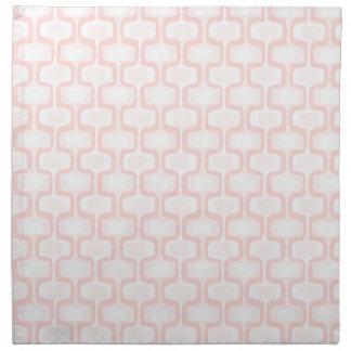 Modern Pink Pattern Napkins